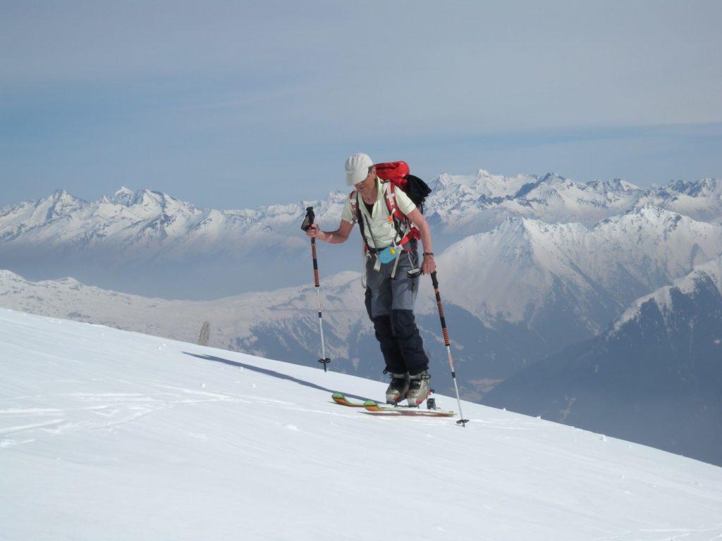 Skitouren im Passeiertal, Kolbenspitze 2868m